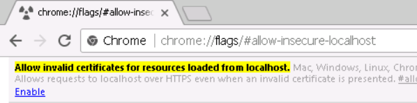 Chrome 58 and Self Signed Certificates in IIS | Codethug